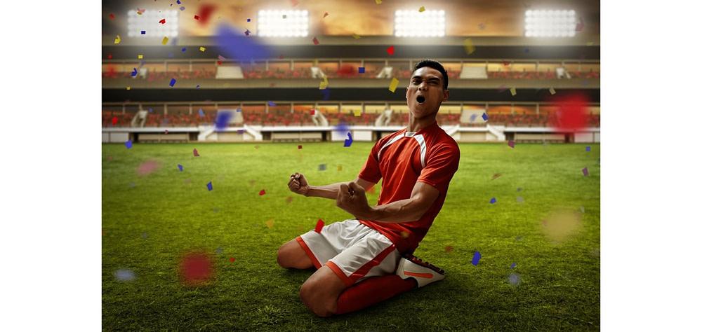 how do soccer players slide on their knees - tilt your body backwards