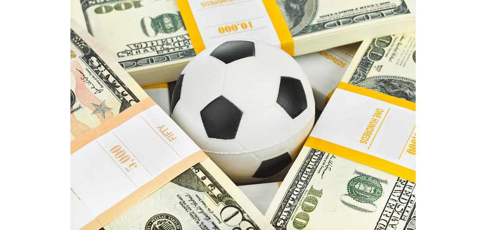 why do soccer teams have sponsors on their jerseys - income generation